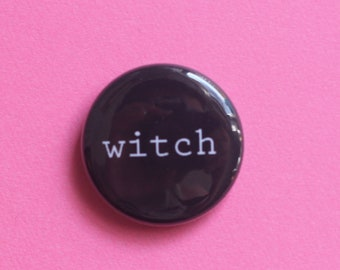 Witch One Inch Button