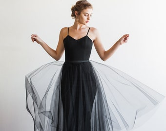 Two piece Cocktail Party Dress Separates Tulle skirt - Dylan by Cleo and Clementine