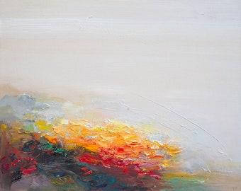 abstract art print- Gaze at Shore- wall art - home gift - home gallery