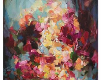 Canvas Print- wall art- home decor- art gift - giclee print- original art-Wondrous Light