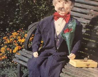 Forever Young Gentleman Doll  Sewing Pattern...Indygo Junction Uncut Complete for 38 inch Dolls