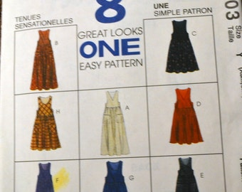 Sewing Pattern McCall's 7903 Misses' Jumper Bust 30 to 36  inches Complete Uncut