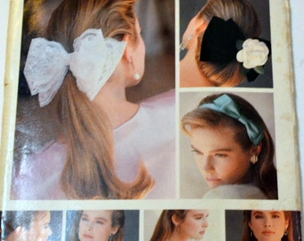 Vintage Sewing Pattern Butterick 5754 Collars Cuffs and Bows Uncut Complete