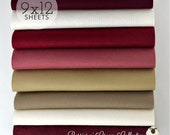 NEW Berries n 39 Cream Collection, Wool Blend Felt Wool Felt Sheets, Wool Felt Fabric, Felt Fabric Bundle, Wool Felt Bundles, Collections