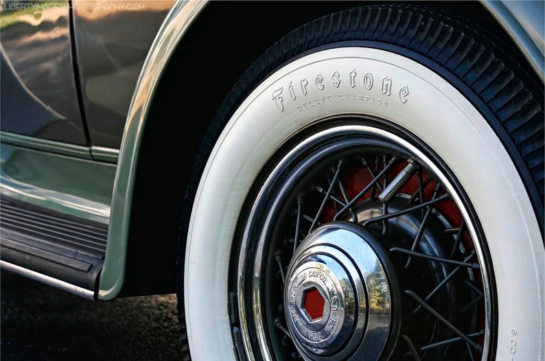 Packard Detail Art Photograph  7x10 Classic Car Photo  1932 image 0