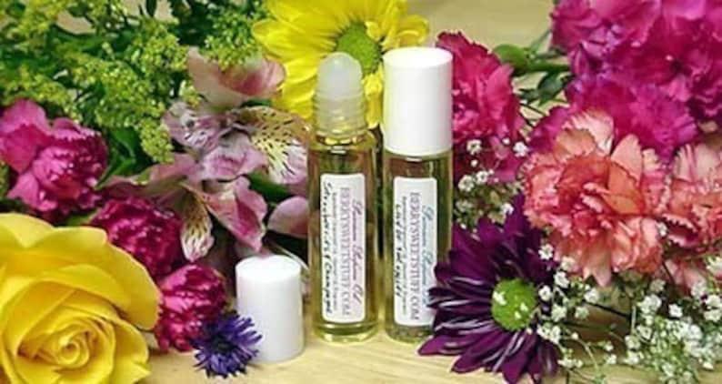 Hyacinth  Purple Hyacinth Perfume Oil Fragrance Roll on Scent image 0