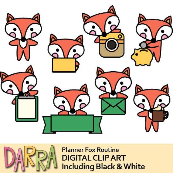 fox clipart kawaii cute animal clip art chore graphics etsy rh etsy com kawaii clip art size 728x90 kawaii clip art cleaning