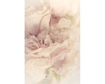 Rose Art Print, Flower Photography, Pink Wall Art, Ethereal Bedroom Decor