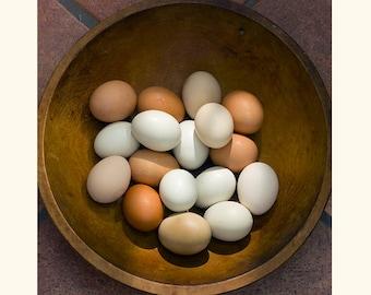 Still Life Photography, Food Print, Hygge Decor, Kitchen Decor, Egg Print,, Rustic Wall Decor, Cottage Chic