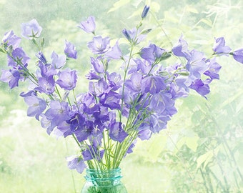 Purple Flower Photography,  Still Life Photography, Floral Art Print, Flower Wall Decor, Pastel Art