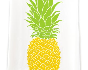 Pineapple Flour Sack Etsy