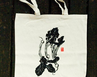 TOTV7: Screenprinted Turnip Tote Bag
