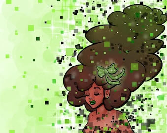 Cosmic Green Press Start
