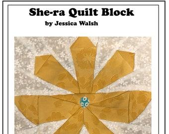 She-ra Quilt Block Pattern