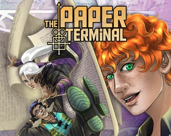 Paper Terminal Book 1: Soul Calibration - SIGNED COPY