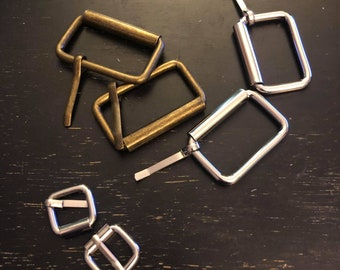 New Nickel Plated Buckles Lots