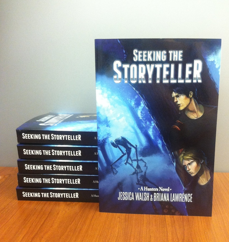 Seeking the Storyteller  A Hunters Novel SIGNED COPY image 0