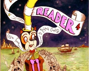 Comix Reader 4 Full Color London Comics Newspaper