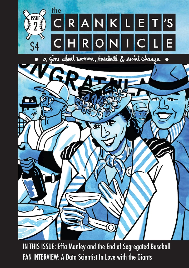 Cranklet's Chronicle Two  Comics About Women Baseball image 0