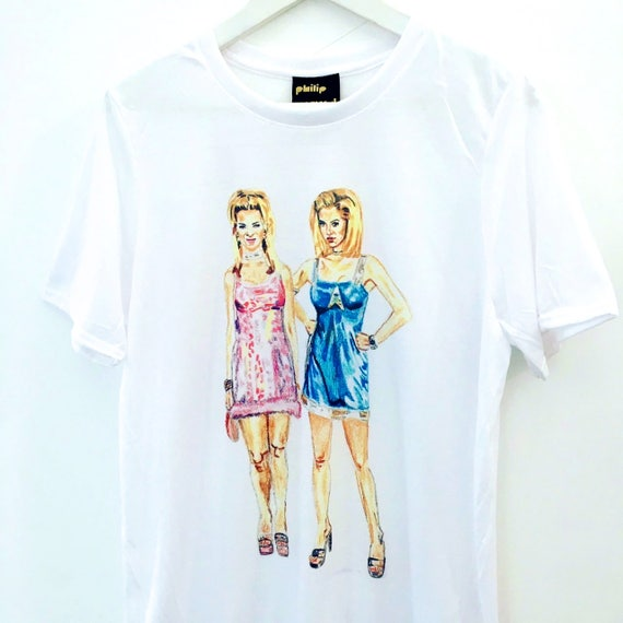 ROMY AND MICHELE Art T-Shirt by Devin Wallace ukoqJVmu8