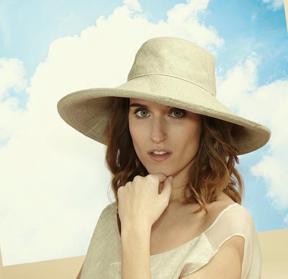65def0b88ed Floppy Hat Beach Hat Travel Hat Wide Brim Hat Summer Hat