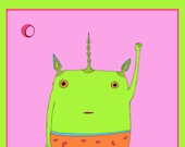 Fundraising Print - This creature stands for you #3. (1 of 25)