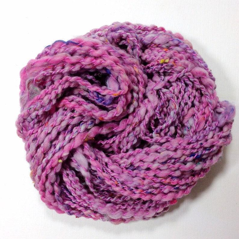 Morning .. hand spun yarn art yarn handspun art yarn wool image 0