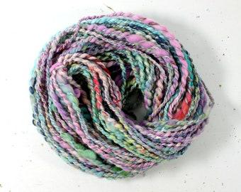 paintbox 3  ... handspun yarn set, weaving creative yarn bundle, hand spun, hand dyed yarn, handspun art yarn
