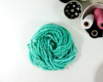 king fisher mix  .. hand spun art yarn, wool yarn, handspun, soft rainbow knitting wool, weaving, crochet supply