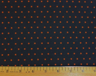 "Dancing in Shadows Orange Black Diamond Halloween 44/"" Cotton Fabric-$11.99//yard"