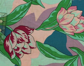 "Vintage floral by John Kaldor 100% cotton fabric  42""-44"" wide  Fabricmaker"