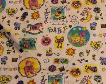 Sue Zipkin Baby fabric Nursery Boy Girl  100% cotton fabric