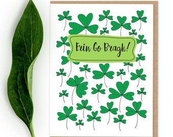 Early looking erin go bragh wooden sign irish greeting st patricks day card erin go bragh st paddys day card m4hsunfo