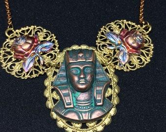 Vintage Egyptian Revival Neclace