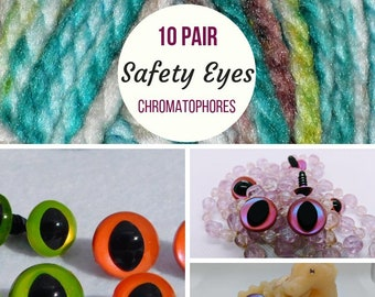 Amazon.com: 15mm Safety Eyes Plastic Eyes Plastic Craft Safety ... | 270x340
