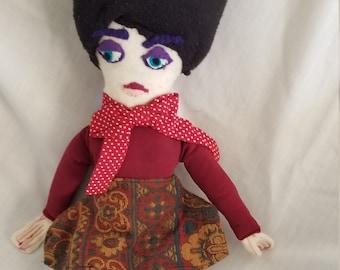 Lulu Frenchie Doll