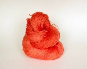 TANGO, pink label hand dyed lace weight yarn