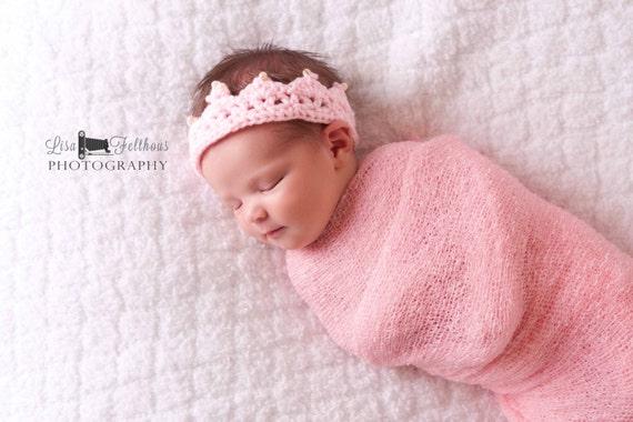 Baby-Mädchen Baby Krone Rüsche-Windel-Abdeckung häkeln