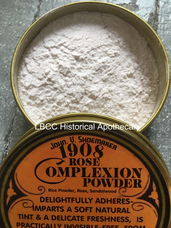How to do Vintage Style Makeup : 1920s, 1930s, 1940s, 1950s 1908 Rose Complexion Powder- Lovely Original Edwardian Recipe Rice Powder Victorian Makeup Natural Face Powder Smooth Finish Face Powder $18.00 AT vintagedancer.com