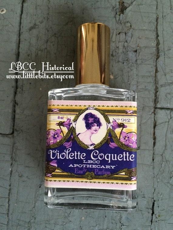 Authentic 1920s Makeup Tutorial 1920s Violette Coquette Eau De Parfum $20.00 AT vintagedancer.com
