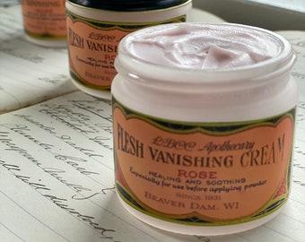 1931 Flesh Vanishing Cream Healing Soothing Natural Foundation Cream Vintage Skin Care Vintage Makeup,Makeup Primer Makeup Best