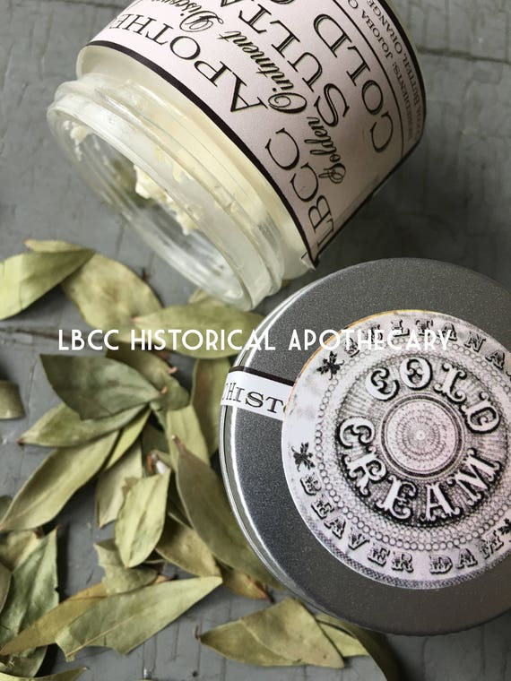 Victorian Makeup Guide & Beauty History 1912 Sultana Cold Cream -Hand Cream - Great For Sensitive Skin - Natural Body Cream - Titanic Hand Cream- Titanic Cold Cream Body Butter $12.00 AT vintagedancer.com
