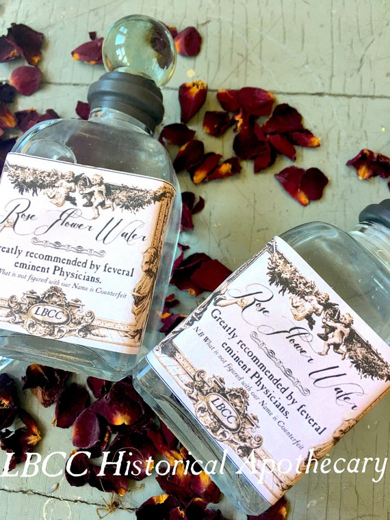 Victorian Makeup Guide & Beauty History  Rose Water Eau de Toilette $18.50 AT vintagedancer.com