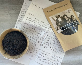 Traditional East Frisian Tea Organic Black Tea Historical Tea Blend Organic Tea Blend LBCC Historical Apothecary