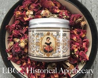 1822 Cream Of Roses Rose Absolute Cold Cream Soft Skin Natural Skincare Self Care Skin Cream Natural Face Cream Makeup Remover