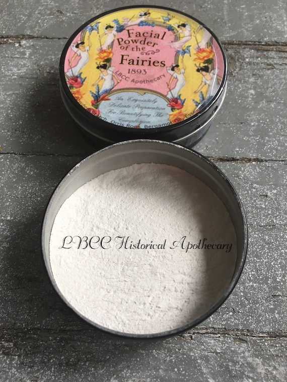 1900-1910 Edwardian Makeup and Beauty Products  1893 Face Powder Translucent Face Powder Natural Oil Control Victorian Face Powder Victorian Makeup Natural $18.00 AT vintagedancer.com