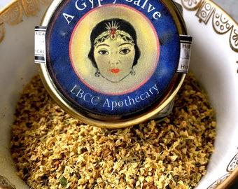 A Natural Gypsy Salve for Eczema and Bruises, Psoriasis, Rosacea, Eczema Salve Rosacea Cream, Dermatitis Ointment