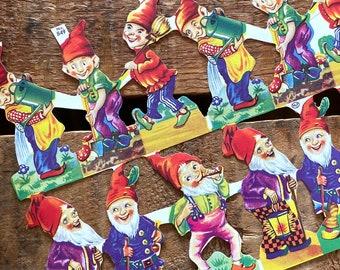 German Scraps - Elf, Elves - Die Cuts, Cut Outs, Reproduction, Vintage Style, Fairy Tales, Paper Ephemera, Elf Ephemera, Junk Journal Paper