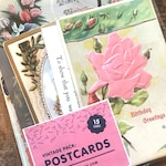 Vintage Postcards - Set of 15 Used Postcards - Old Postcards, Paper Ephemera, Altered Art, Craft Supplies, Junk Journal, Collage, Old Paper