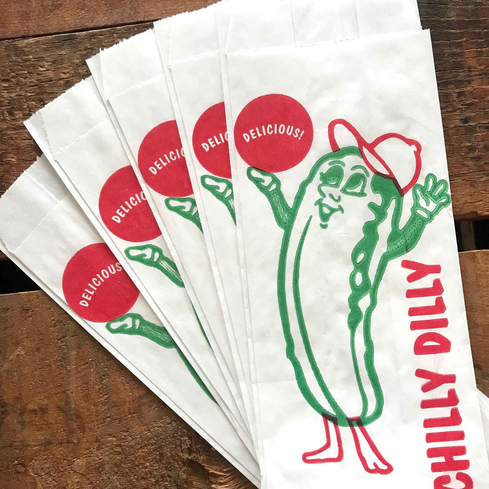 Pickle Treat Bags